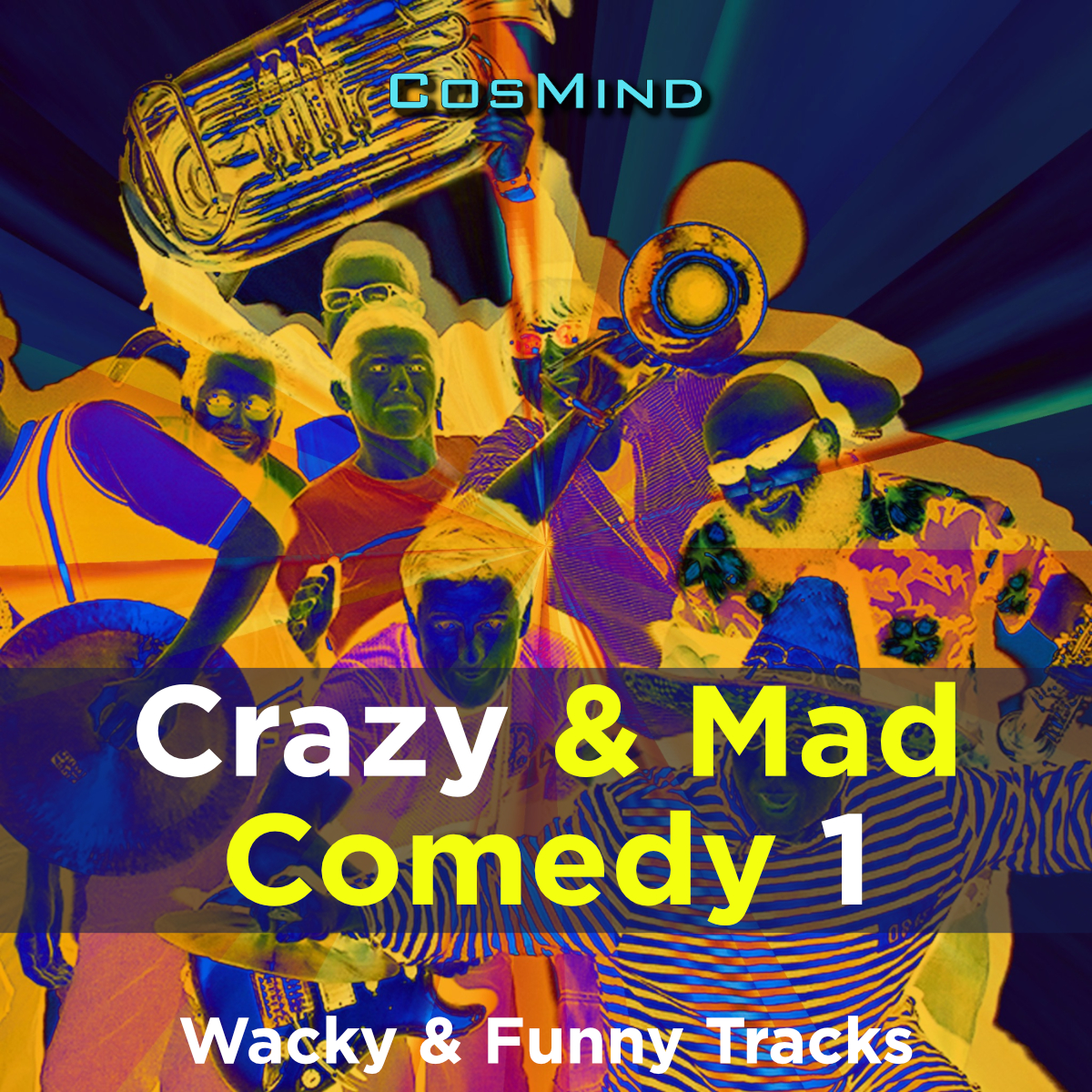 Crazy & Mad Comedy 1
