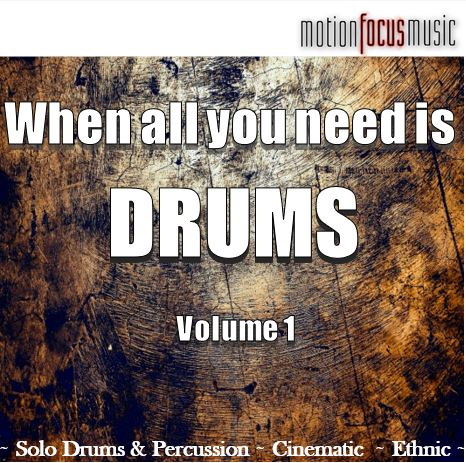 When All You Need Is Drums Vol. 1